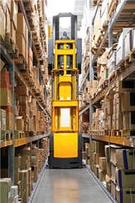 vna very narrow asile racking systems