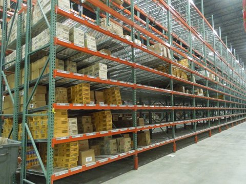 Pallet Rack and Carton Flow Installation