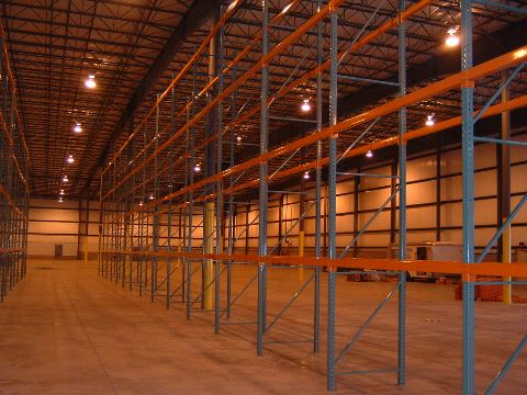 new & used racking for warehouses