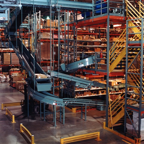 Pick Modules for warehouse systems