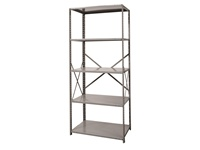 Open Shelving Starter Unit - Medium Duty - 5 Shelf