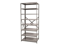 Open Shelving Starter Unit - Medium Duty - 8 Shelf
