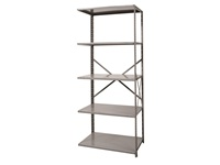 Open Shelving Add-on Unit - Medium Duty - 5 Shelf