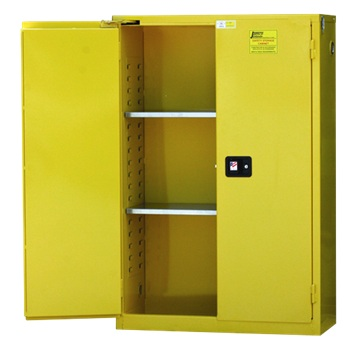 Safety Flammable Cabinet With Self Close Doors