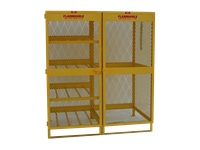 Combo Gas Cylinder Storage Cabinet