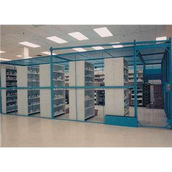 WireCraters Wire Partition DEA Drug Storage Cages