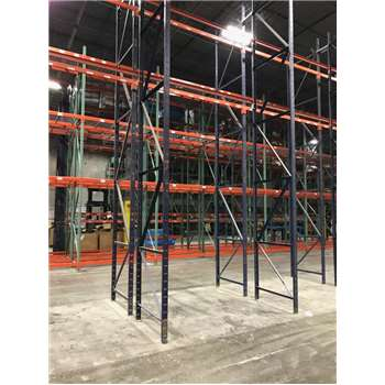 Used Structural Rack Lot, Structural Uprights, Structural Beams, Structural Rack in Florida
