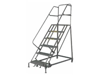 Narrow Aisle Safety Angle Ladder - Model EC6