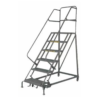 Narrow Aisle Safety Angle Ladder Model Ec6