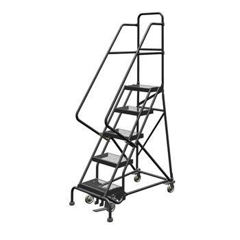 Rolling Safety Ladder Grip Strut
