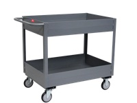Deep Lipped Service Cart - Model LS