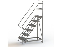 Narrow Aisle Safety Angle Ladder - Model EC2