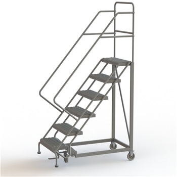 Narrow Aisle Safety Angle Ladder