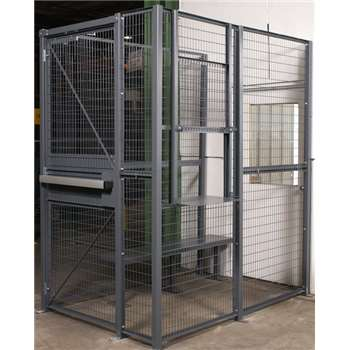 WireCraters Wire Partition Driver Cages & Building Access Cages
