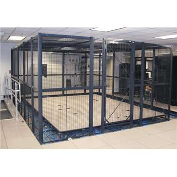 WireCraters Wire Partition Server & Colocation Cages Data Center