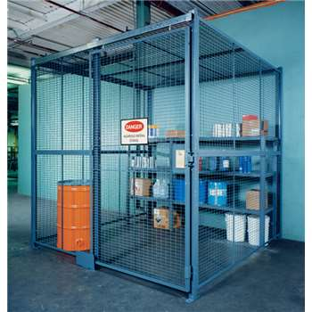 WireCraters Wire Partition Tool Cribs & Storage Cages