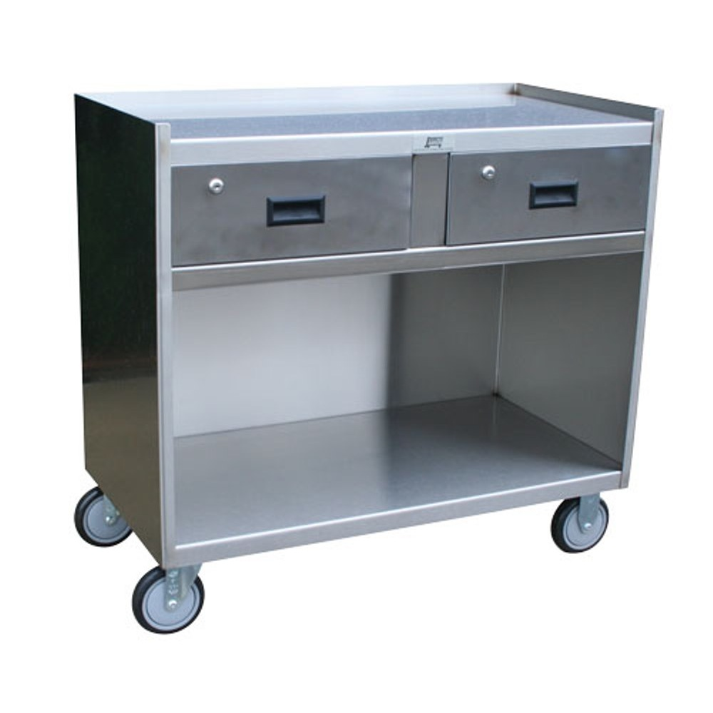 Stainless Steel Mobile Work Stand