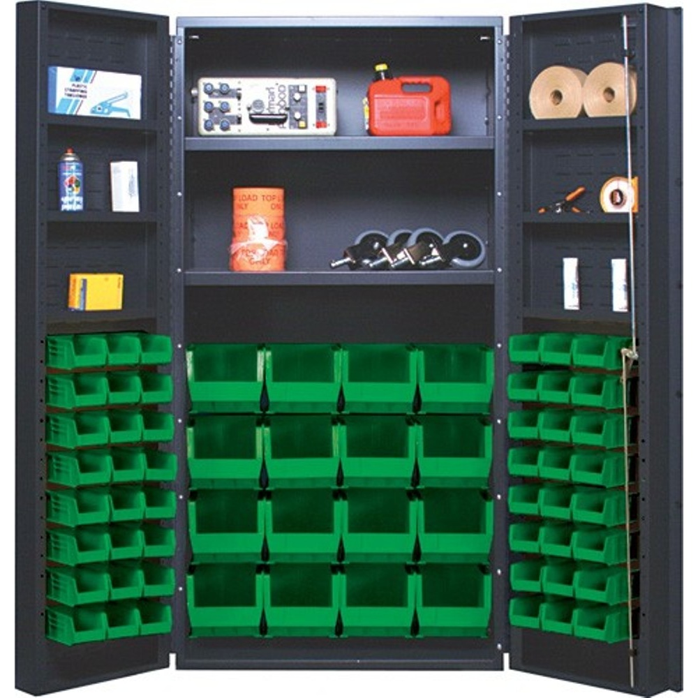 Heavy Duty Bin Cabinet And Storage